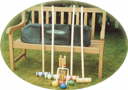 96cm Family Croquet Set in Canvas Bag